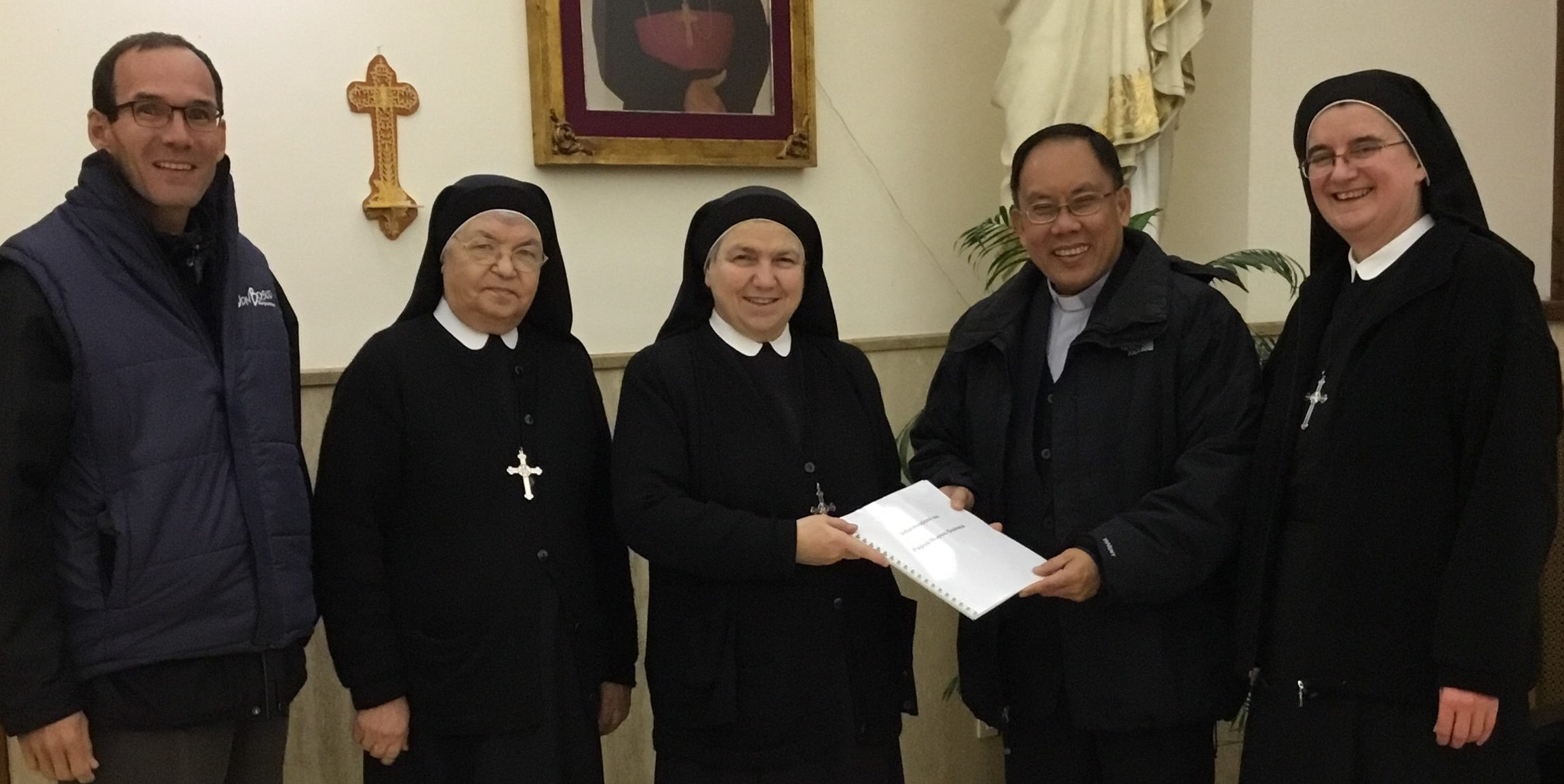 Visit to Generalate of the Salesian Oblates